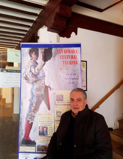 "José Ángel ""Semana Cultural Taurina"" Tomelloso 2018"