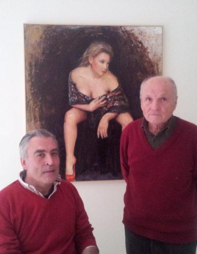 José-Ángel-y-Antonio-López-delante-de-su-obra
