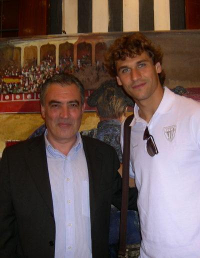 José-Ángel-y-LLorente-jugador-de-fútbol