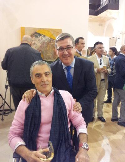José-Ángel-y-Marcial-Marín-consejero-de-Cultura-Educación-y-Deporte-